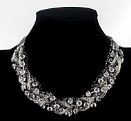 Jewelry Choker Necklaces Party Alloy Women Black Wedding Gifts