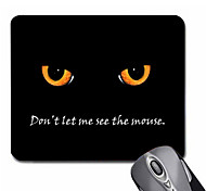 Personalized Gift Cat Patterrn Gaming Optical Rectangle Mouse Pad (20.5x18cm)