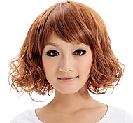 Capless Synthetic Short Average Curly Stylish Women Wigs