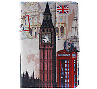 British style Pattern General Case with Pen and Screen Protector for 9' Google/Asus/Amazon Tablet