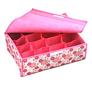 16 Fälle Blume Softcover Storage Box