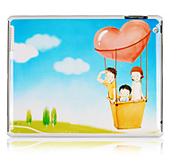 Family Pattern Plastic Back Case for iPad 2/3/4