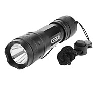 LED Flashlights/Torch / Handheld Flashlights/Torch LED 3 Mode 240 Lumens Adjustable Focus Cree XR-E Q5 16340Camping/Hiking/Caving /