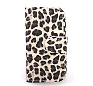Leopard  Grain Pattern PU Leather Full Body Case for Samsung Galaxy S3 i9300(Assorted Color)