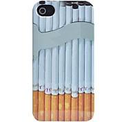 Zigarette Muster ABS zurück Fall für iphone 4/4s