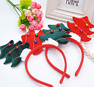 Christmas Fleece Tree Style Hair Hoop for Pets Dogs (Assorted Colors)