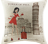 Polyester Pillow Cover , Still Life Modern/Contemporary / Country