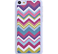 Colorful Wave Pattern Back Case for iPhone 5C