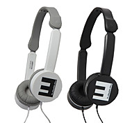 SENIC IS-R3V dobrável Over-Ear Headphone Mic e Adaptador para PC / iPhone / iPod / iPad / Samsung