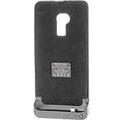 Affaire Full Body 4200mAh externe PU batterie en cuir pour HTC One