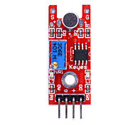 Voice Sound Sensor Module for Sound Alarm System - Red + Blue + Black