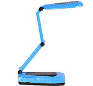 White Light 21-LED ricaricabile LED solare Fold Eyeshield Reading Table Desk Lamp (110-220V)
