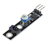 módulo del sensor de la caza de línea para (para arduino) (trabaja con oficiales (para Arduino) Tablas)