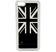 New Sense Union Jack Flash Light LED Color Changing Hard Case for iPhone 5C