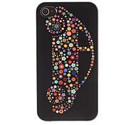 Flora Dekoriert Auto Muster PC Hard Case für iPhone 4/4S