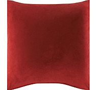 "18"" Solid Suede Polyester Decorative Pillow Cover"