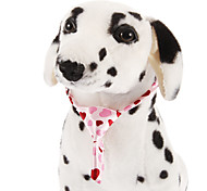 Cute Loving Hearts Pattern Tie for Pets Dogs