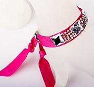 Ruban Diamond Glass Rose Bracelet