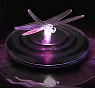 Luz colorida LED Luz Solar Flutuante Solar Dragonfly Luz