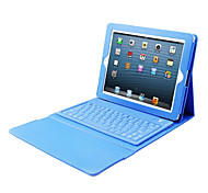 PU Leather Case Bluetooth Keyboard for iPad 2/3/4