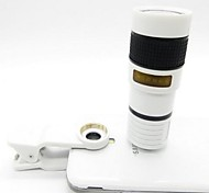 Universal 8X Telescope / Microscope Lens for iPhone 4s / 5 / 5c / iPad / iPad Mini + More