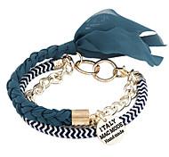 Lady Fabric Weave Bracelet