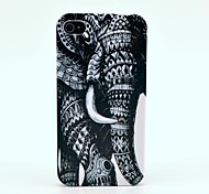 Coque Rigide pour iPhone 4/4S, Motif Elephant