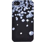 Joyland glänzende Diamant-Muster-ABS zurück Fall für iPhone 4/4S