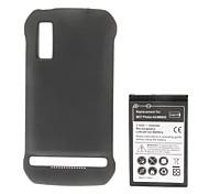 Batería 3.7V 3500mAh amplió con la cubierta de batería para Motorola Photon 4G/MB855