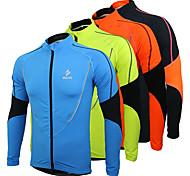 Men's Cycling Jersey Warm Long Sleeve Fleece Winter Thermal Bike Bicycle Cycling Jersey Outdoor Sporting Coat