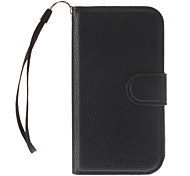 PU Leather Wallet Pouches + HD Clear Film + Black Stylus for Samsung Galaxy S3 I9300