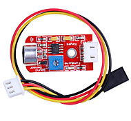 Sound Sensor Module Sound Intensity Detector for SCM Development Red
