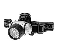 Bike Light Headlamps LED Waterproof 200 Lumens Battery Black Camping/Hiking/Caving / Cycling/Bike-Others