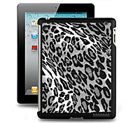 Effetto 3D custodia in plastica Back Cover per iPad 2/3/4