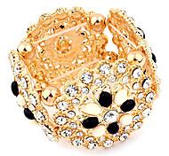 European Flower Diamond Bracelet