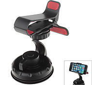 360 Degree Rotation Universal Car Holder for GPS / Mobile Phone – Black