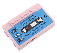 TF Card Reader MP3 Player Tape Shape Pink
