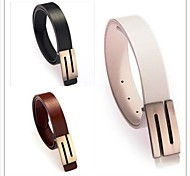 Men / Women Waist Belt,Party / Work / Casual Alloy / Leather Summer / Winter / All Seasons