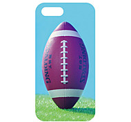Rugby Pattern Back Case for iPhone 5