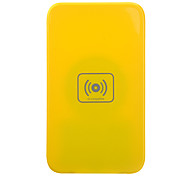 Cargador inalámbrico Qi para Nexus 4 Lumia 920 HTC 8x ADN Samsung i9300 Nota 2 S3 S4 - Amarillo