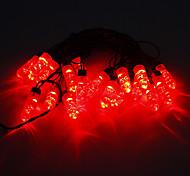 Los 5M 15W LED Light Strip Rojo 20-LED (220)