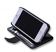 Flocking Sheep Leather Brand Full Body Case with Card Slot Cash Slot for iPhone 5/5s