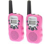 T388 2PCS/Pair Containing Two Walkie Talkies Pink