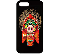 Chinese Ancient Heroine Mulan Pattern Back Case for iPhone 5