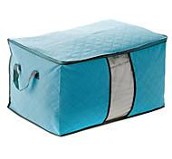 60x42x36cm Чистота шаблон проверки Хлопок Коробка для хранения (разных цветов)