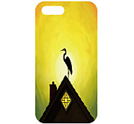 Crane Pattern Back Case for iPhone 5