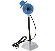 8.0 Megapixel USB 2.0 Clip-on PC Camera Webcam 2-LED