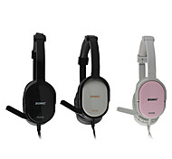 Somic PC539 Stereo Gaming Foldable Over-Ear Headphone with Mic and Remote for PC