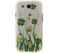 Зеленый узор Вайн Пластиковый защитный Твердый переплет чехол для Samsung Galaxy S3 I9300
