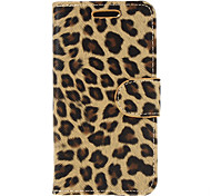 Fashion Design Leopard Print Leather Case for BlackberryZ10